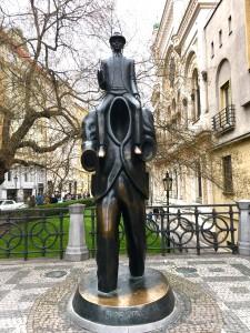 franz kafka heykeli