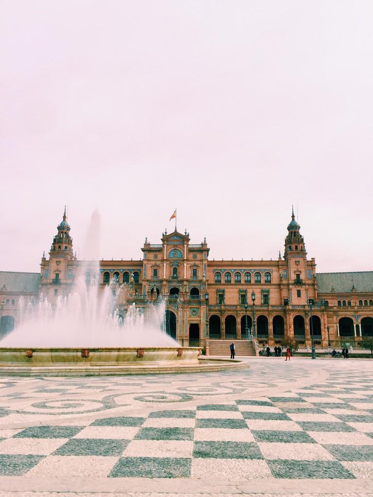 plaza de espana -sevilla